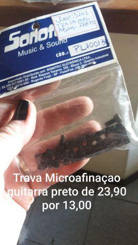 Trava Microafinação Guitarra Preto Sonotec