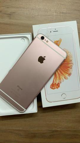 6b2efa1c5 Iphone 6s plus 64gb rose semi novo!! - Celulares e telefonia ...