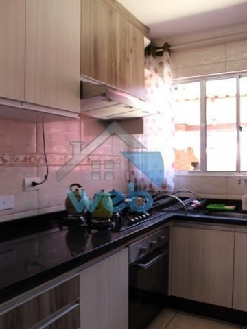 Excelente sobrado, dois quartos e cozinha planejada! - Foto 12