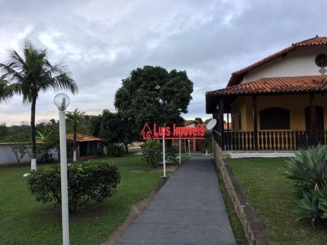 Sítio com 3 dormitórios para venda e locação, 3000m² - Inoã - Maricá/RJ - SI0009 - Foto 2
