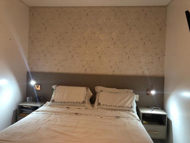 Apartamento 3/4 + Home Office Platno GreenVille Andar Alto Vista Bosque - Foto 3