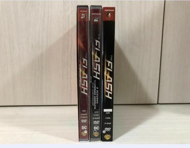Coleção Dvds Originais Temporadas 1 À 3 The Flash - Foto 2