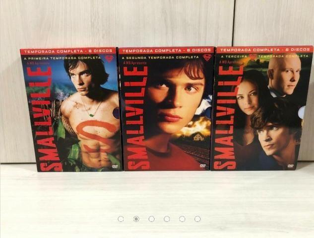 Coleção Completa 10 Temporadas Dvds Originais Smallville - Foto 2