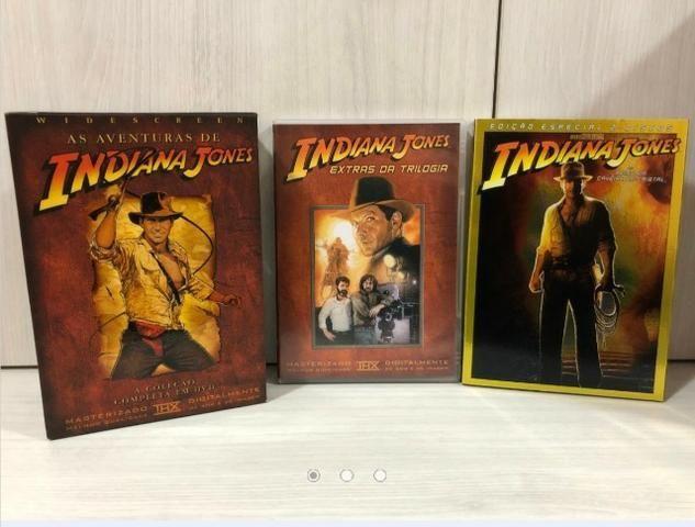 Coleção Completa Dvds Indiana Jones