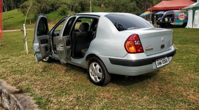 Renault Clio 1.6 16v 2004 completo - Foto 11
