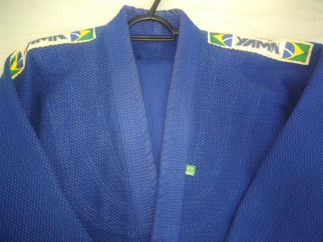 Kimono Trançado Master Azul A2