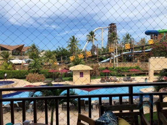 Apartamento wellness beach park resort , com 4 dormitórios à venda, 135 m² por R$ 950.000  - Foto 2