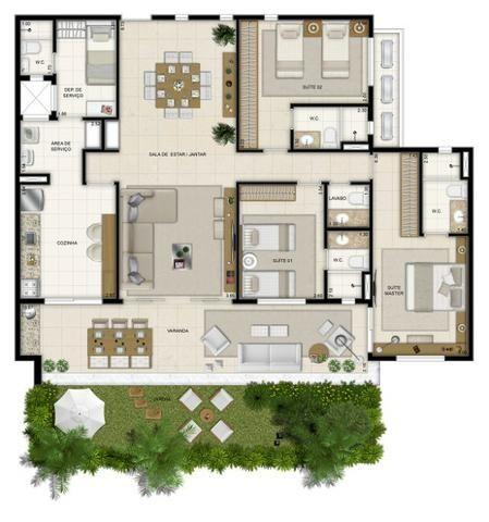 Mandara Kauai Excepcional Apartamento Maison (148 m2) - Foto 19