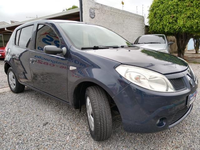 Renault sandero 2009 com parcelas de 599 mensais financio e aceito trocas - Foto 4