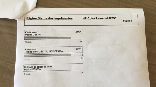 Vendo impressora HP M750 Nova - Foto 5