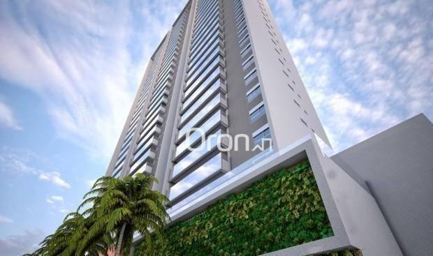 Apartamento com 3 dormitórios à venda, 154 m² por R$ 981.000,00 - Alto da Glória - Goiânia