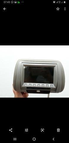 Vendo2 tela de dvd cabeceira de banco top novo