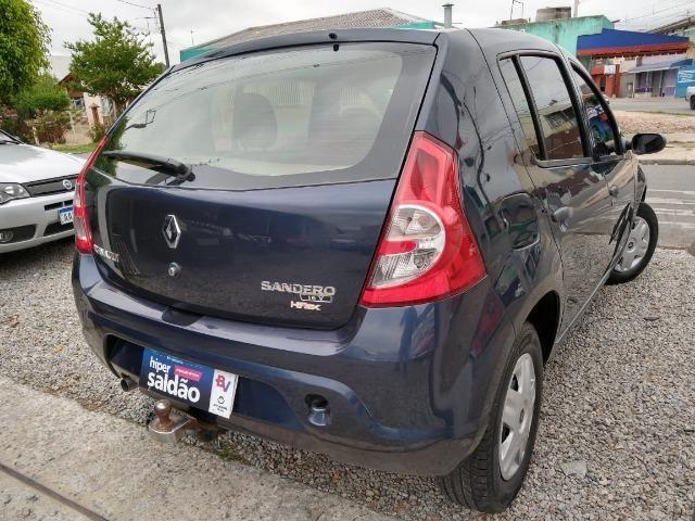 Renault sandero 2009 com parcelas de 599 mensais financio e aceito trocas - Foto 8