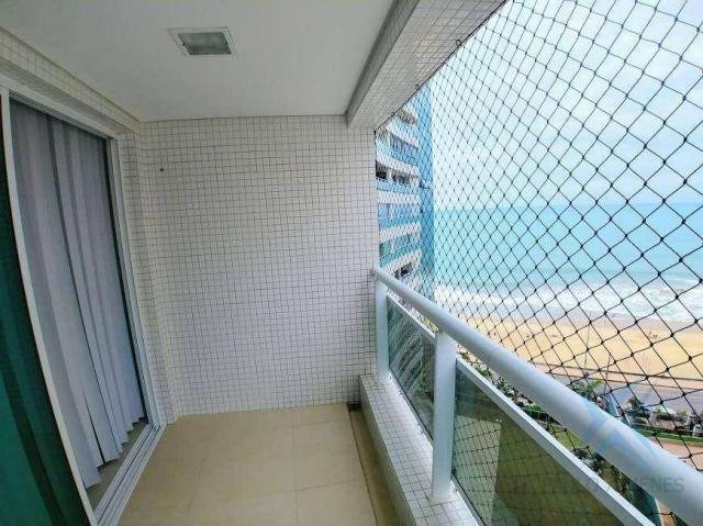 Apartamento com 2 dormitórios à venda, 70 m² por r$ 1.260.000 - meireles - fortaleza/ce - Foto 2