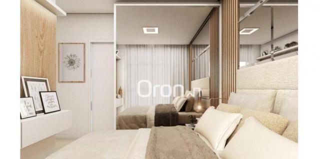 Apartamento com 3 dormitórios à venda, 68 m² por r$ 265.000,00 - condomínio santa rita - g - Foto 8