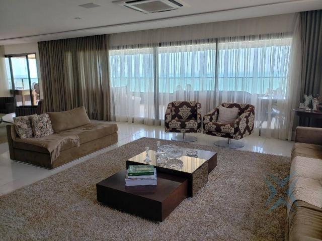 Apartamento alto padrão para alugar, 550 m² por r$ 20.000/mês - meireles - fortaleza/ce - Foto 9