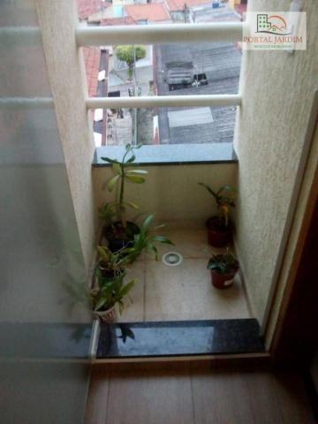 Apartamento com 2 dormitórios para alugar, 50 m² por r$ 1.300/mês - vila alto de santo and - Foto 17