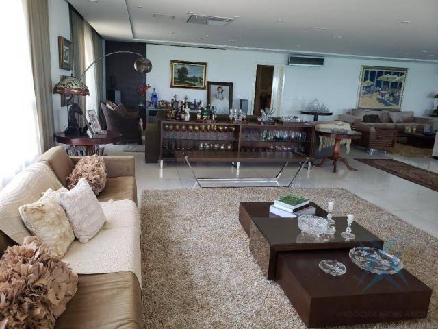 Apartamento alto padrão para alugar, 550 m² por r$ 20.000/mês - meireles - fortaleza/ce - Foto 8