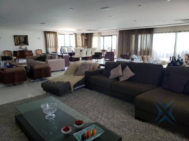 Apartamento alto padrão para alugar, 550 m² por r$ 20.000/mês - meireles - fortaleza/ce - Foto 12