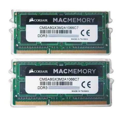 Memória iMac Macbook Pro MiniMac Macmemory Corsair - Foto 3