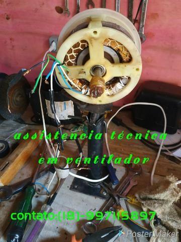 Assistencia técnica de ventilador