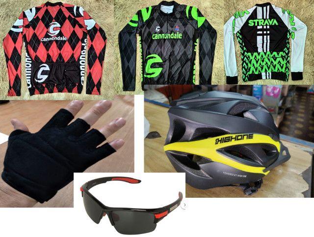Bicicleta Acessórios, Banco, Roupas, Óculos, Transbike Engate e Porta Malas - Foto 6