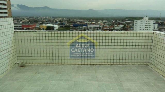 Apartamento à venda com 1 dormitórios em Guilhermina, Praia grande cod:AC927 - Foto 6