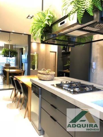 Apartamento com 2 quartos no Edificio Renaissance - Bairro Jardim Carvalho em Ponta Gross - Foto 9