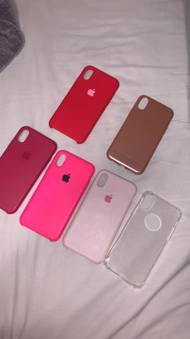 Vendo capinha p iPhone X