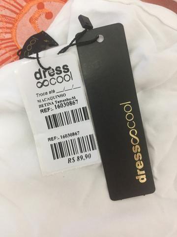 Macaquinho dress cool