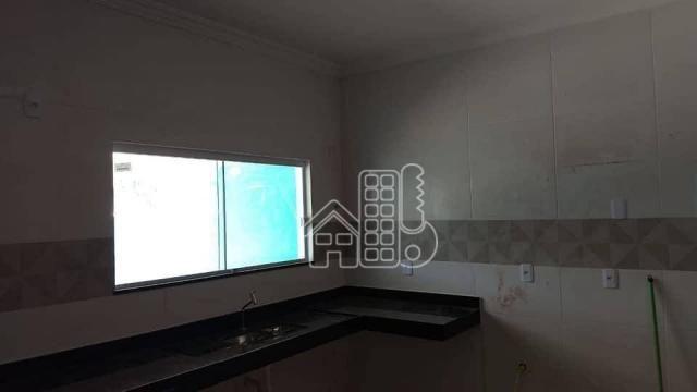 Casa com 3 dormitórios à venda, 130 m² por R$ 550.000,00 - Itaupuaçu - Maricá/RJ - Foto 8
