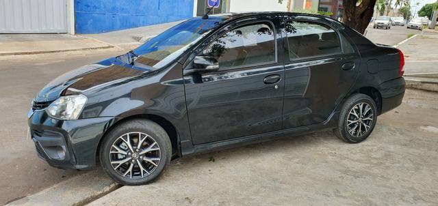 Etios 1.5 platinum automático 17/18 sedan - Foto 15