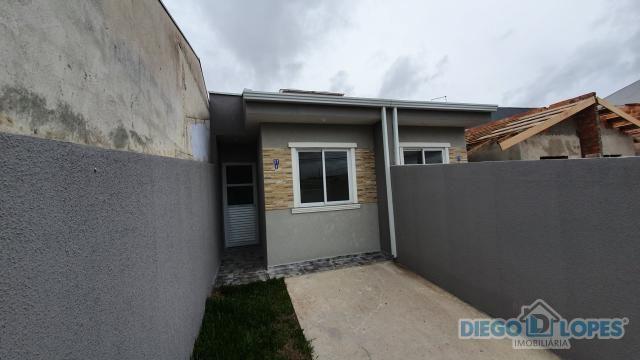 Casa à venda com 2 dormitórios em Campo de santana, Curitiba cod:133