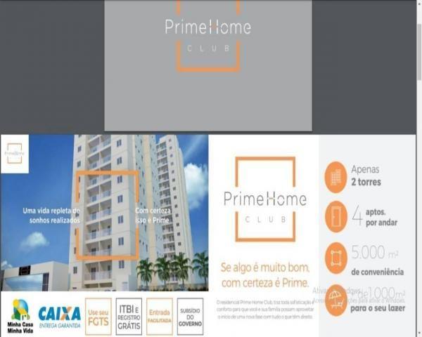 Prime Home Club Apto 59m2 2 Dorms 1 Suíte Varanda Gourmet 1 Vaga Garagem - Foto 12