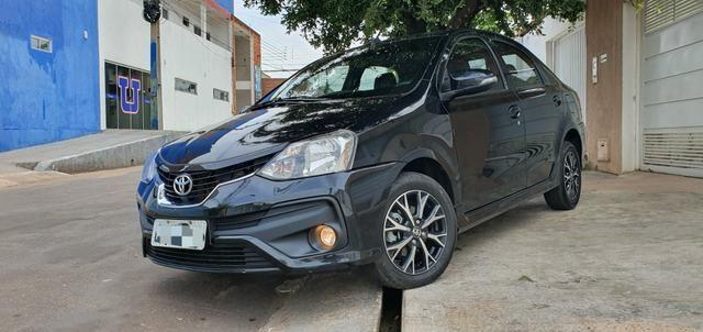 Etios 1.5 platinum automático 17/18 sedan - Foto 18