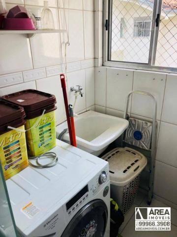 Apartamento com 2 dormitórios à venda, 62 m² por R$ 205.000 - Santa Quitéria - Curitiba/PR - Foto 6