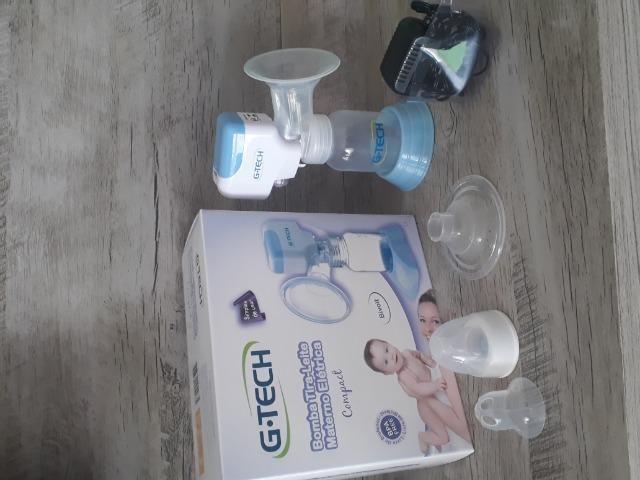 Bomba tira leite materno elétrica Gtech - Foto 2