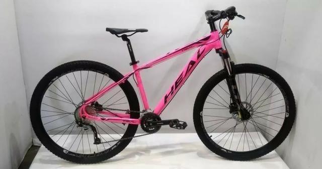Bicicleta 29 Heal Trial de18v Acera Susp.trava e Reg