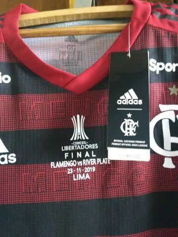 Camisa Flamengo I 19/20 Final Libertadores Versão Jogador - Foto 6