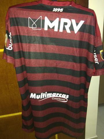Camisa Flamengo I 19/20 Final Libertadores Versão Jogador - Foto 5