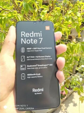 Xiaomi Redmi Note 7 128gb 4gb 48Mpx /Novo Com Garantia 6 meses Cor Azul - Foto 4