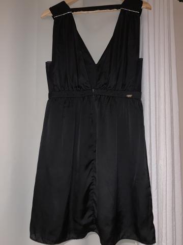 Vestido Vide Bula Curto Preto