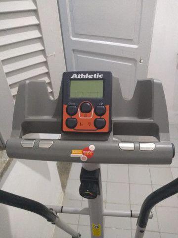 Aparelho de Ginastica/Simulador de Caminhada/Eliptico Athletic - Foto 3