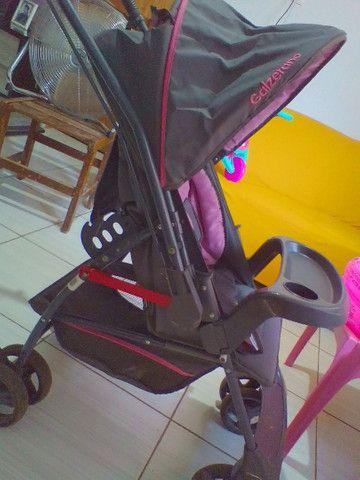 Carrinho de bebê menina - Foto 4