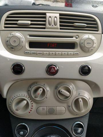 FIAT 500 DUAL 1.4 COMPLETO ANO 2012 - Foto 13