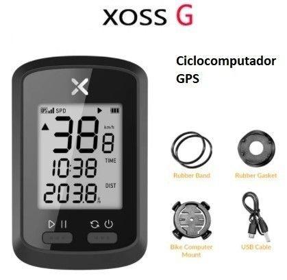 Velocímetro Gps Xoss G Smart Bt Ant+ Strava - Foto 4