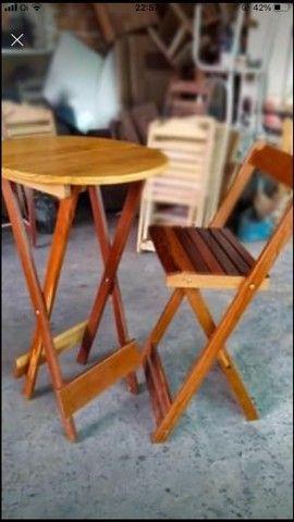 Mesas e cadeiras bistrô  - Foto 2