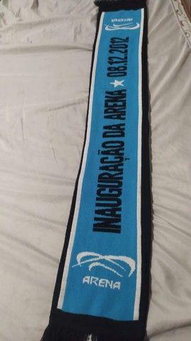 Cachecol Grêmio inauguração arena 2012