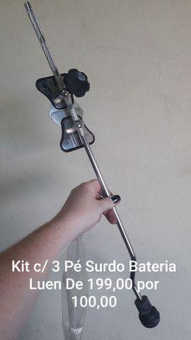 Kit c/ 3 Pé de Surdo Turbo
