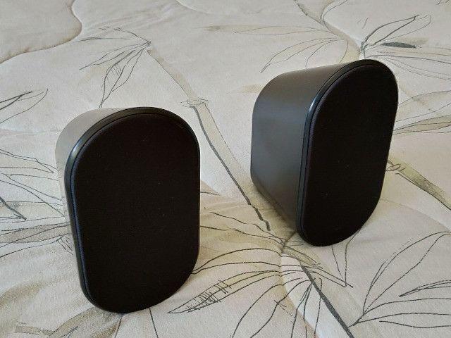 Caixas Acústicas Traseiras P/ Home Theather Samsung PS-RX40